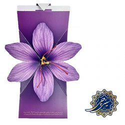 زعفران طرح گل یک گرمی _ زعفران
